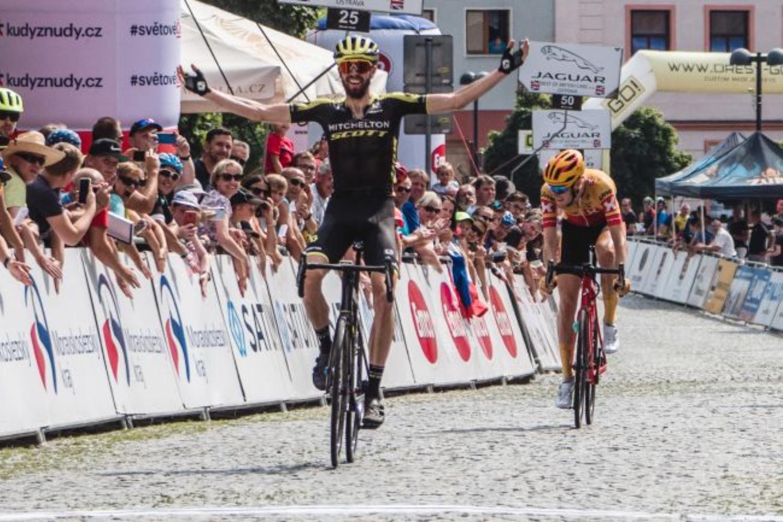 Damien Howson, ganador del Tour de la República Checa 2020