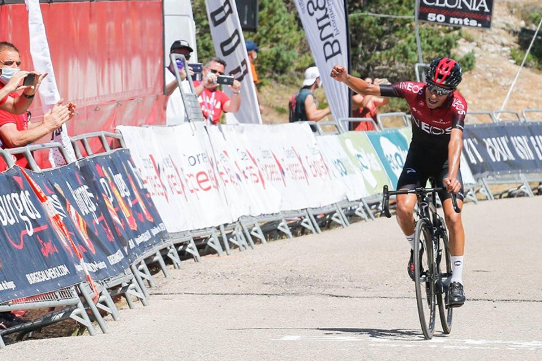 Iván Ramiro Sosa gana la 5 etapa de La Vuelta a Burgos 2020