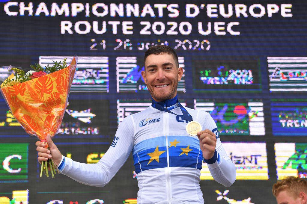 Giacomo Nizzolo, nuevo campeón de Europa en ruta