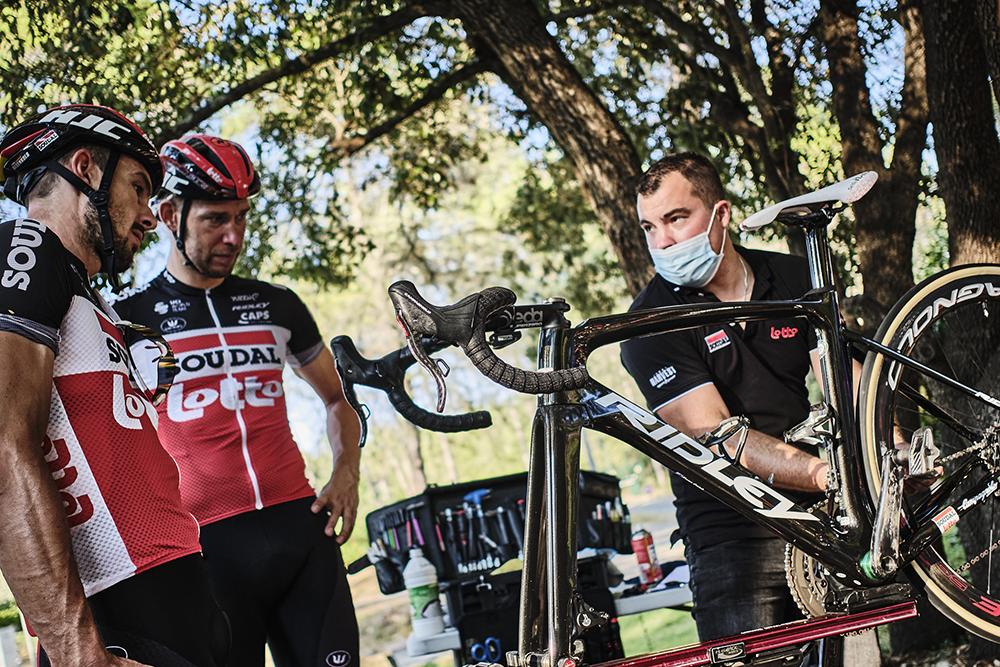Lotto Soudal seguirá compitiendo con la marca de bicis Ridley