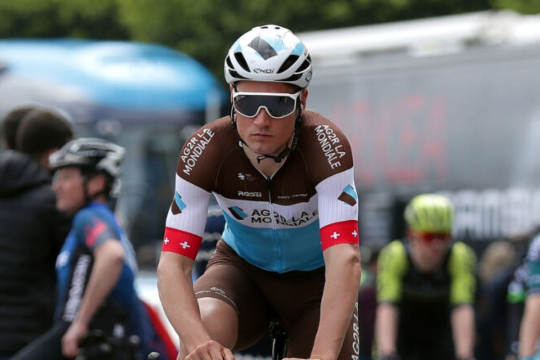 Silvan Dillier, ciclista suizo del Ag2r La Mondiale