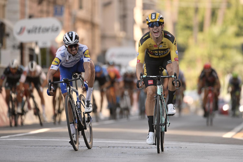 Wout Van Aert logra la victoria en la Milán San Remo 2020