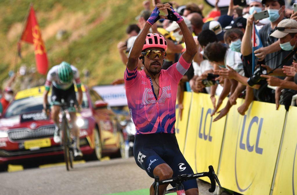 Daniel Felipe Martínez ganó la décimo tercera etapa del Tour de Francia 2020 (Getty Images).