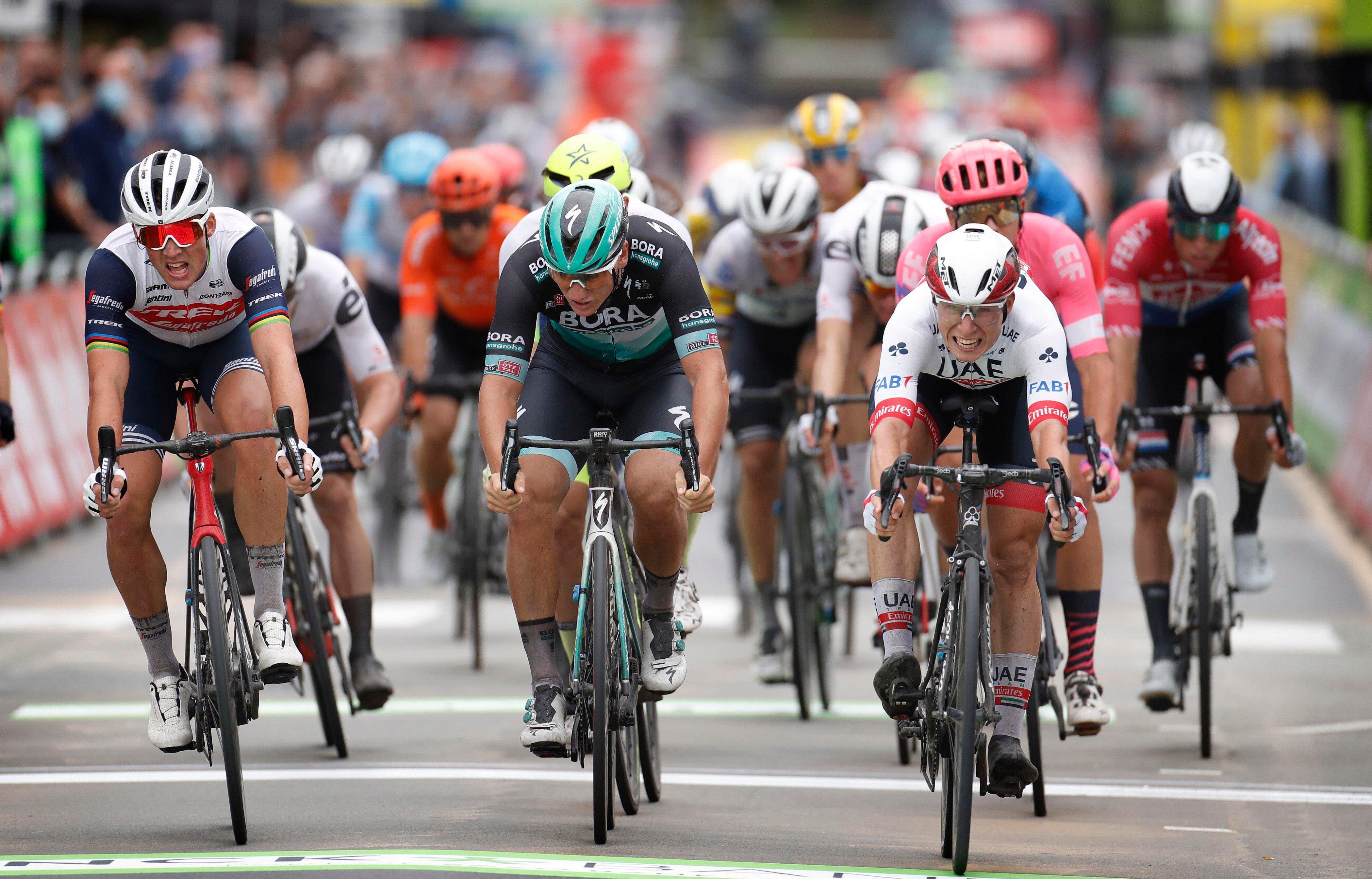 Jasper Philipsen ganó la primera etapa del Binck Bank Tour 2020.