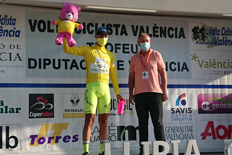 Mauricio Moreira se coloca líder de la Vuelta a Valencia 2020