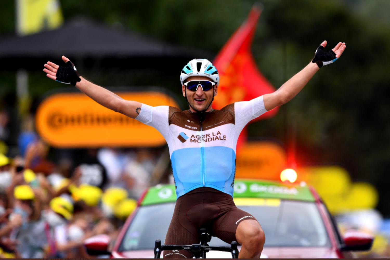 Nans Peters ha logrado la victoria en solitairo en la 8 etapa del Tour de Francia 2020