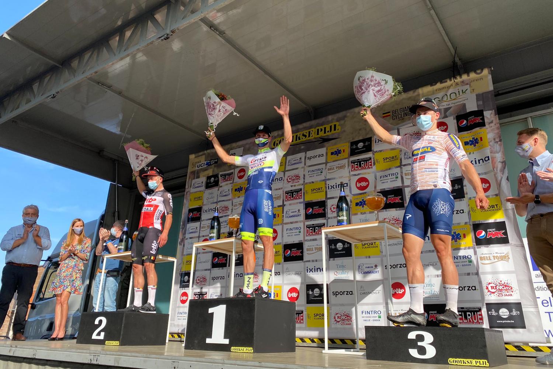 Danny van Poppel logra al sprint su primera Gooikse Pijl