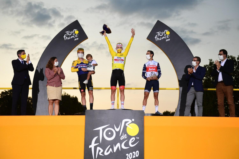 Pódium Tour de Francia 2020