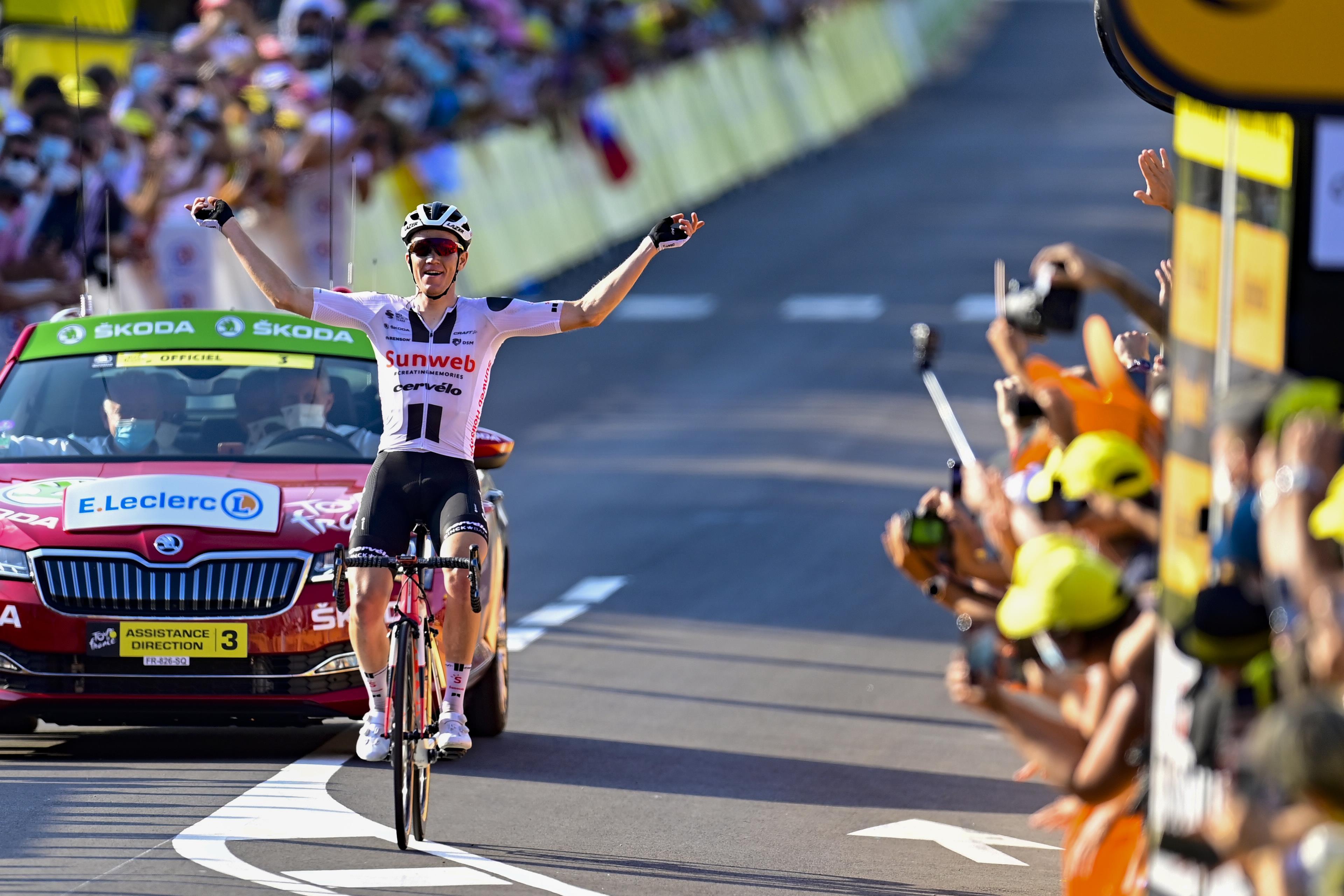 Soren Kragh Andersen ganó la decimonovena etapa del Tour de Francia 2020.