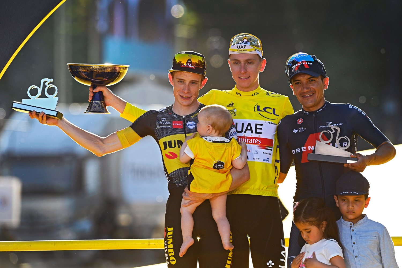 Tour de Francia 2021 podio final