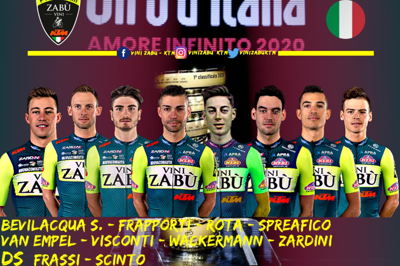 Vini Zabù, el primer equipo en confirmar su ocho para el Giro