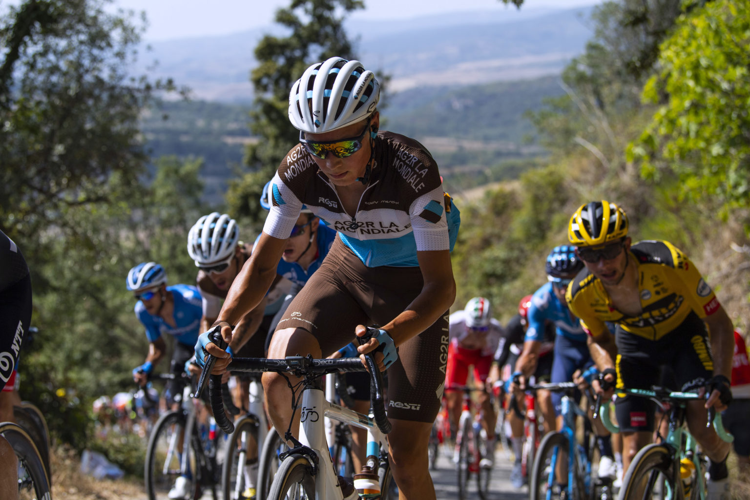 Jaakko Hänninen seguirá creciendo en el AG2R. (Photo by Justin Setterfield/Getty Images)