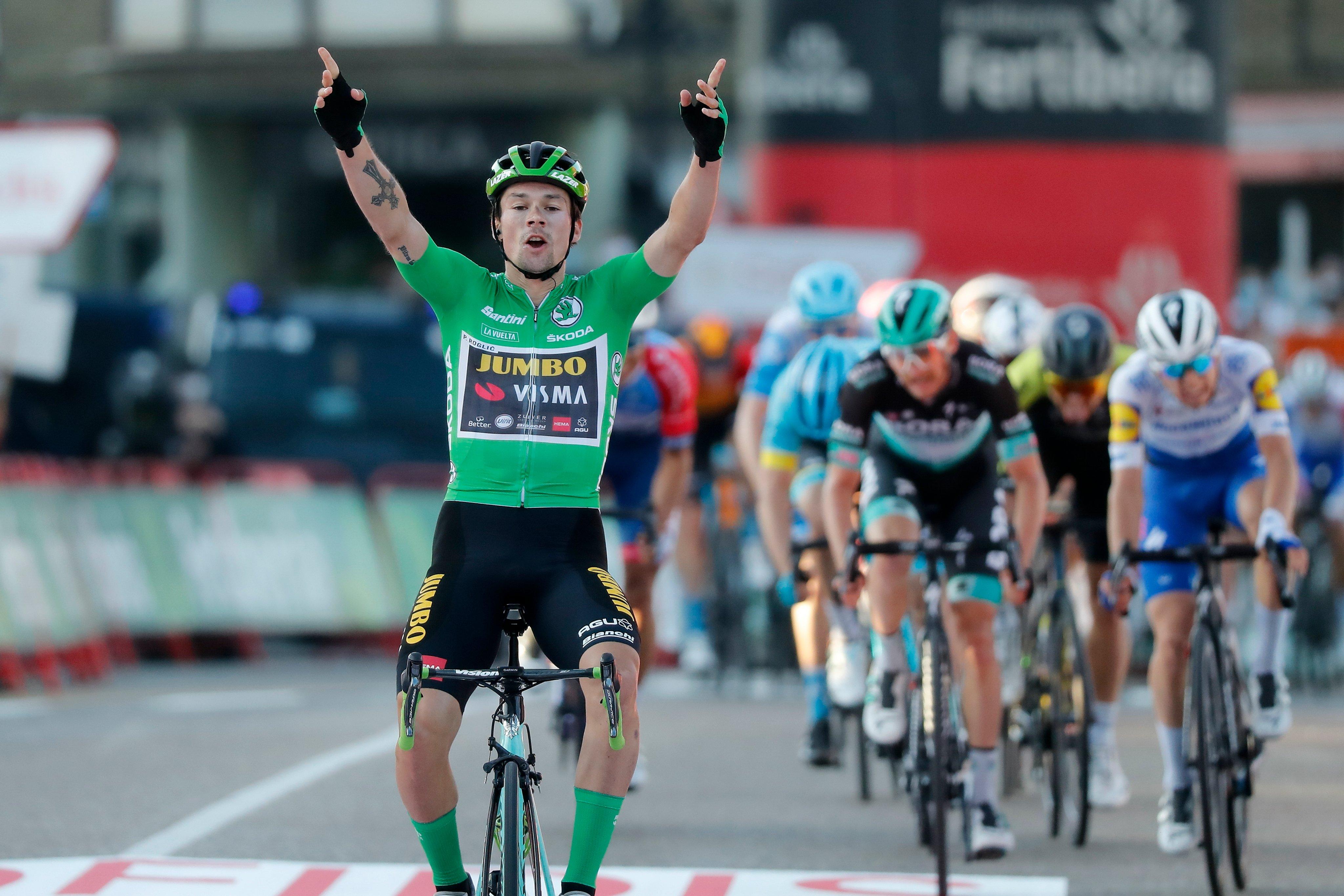 Primoz Roglic ganó la décima etapa de la Vuelta a España 2020 (Photo Gomez Sport).