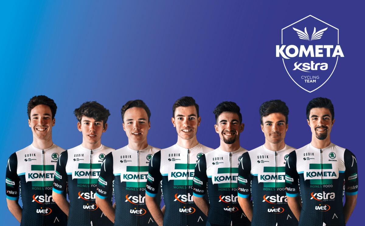 Fancellu, Viegas, Dina, Erik Fetter, Ropero, Sergio García y Sevilla son los siete corredores que seguirán vinculados al nuevo EOLO-Kometa Cycling Team.
