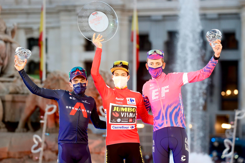 Pódium La Vuelta España 2020