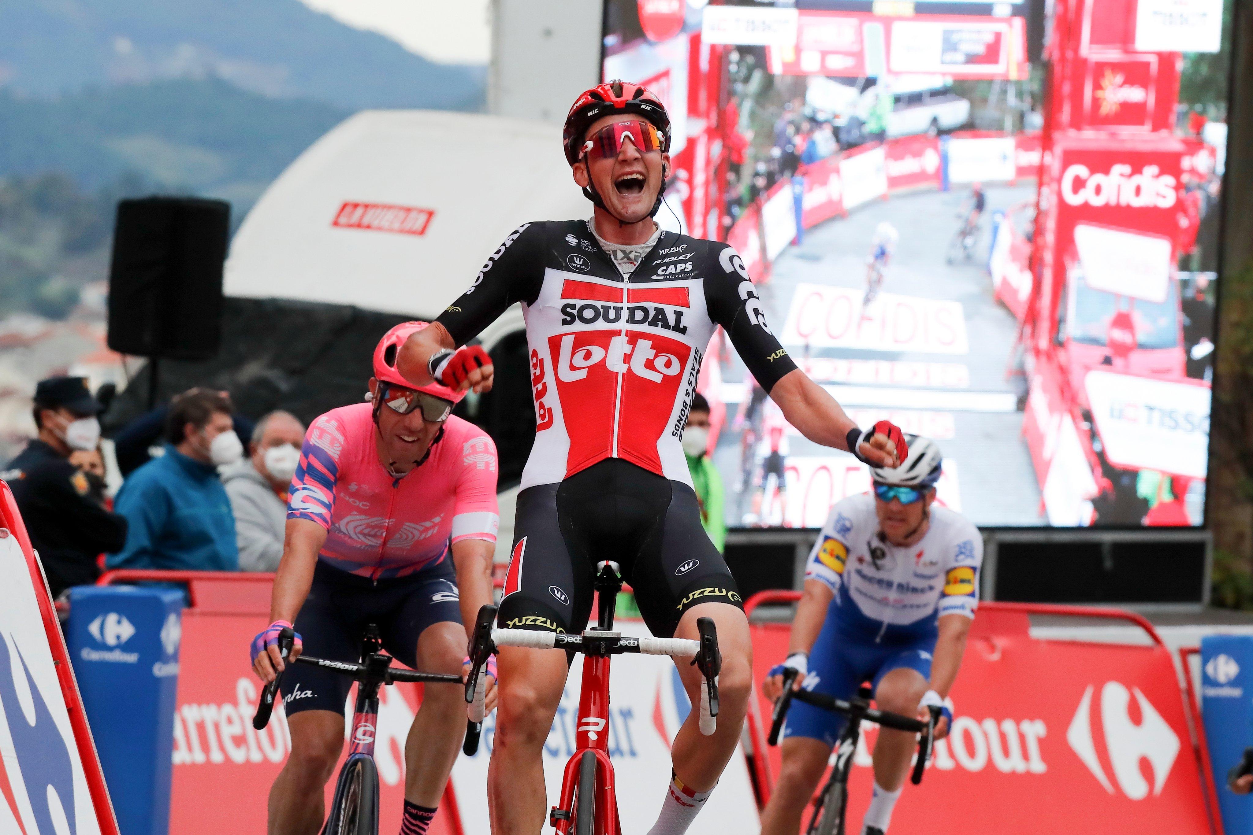 Tim Wellens ganó la decimocuarta etapa de la Vuelta a España 2020 (Photo Gómez Sport)