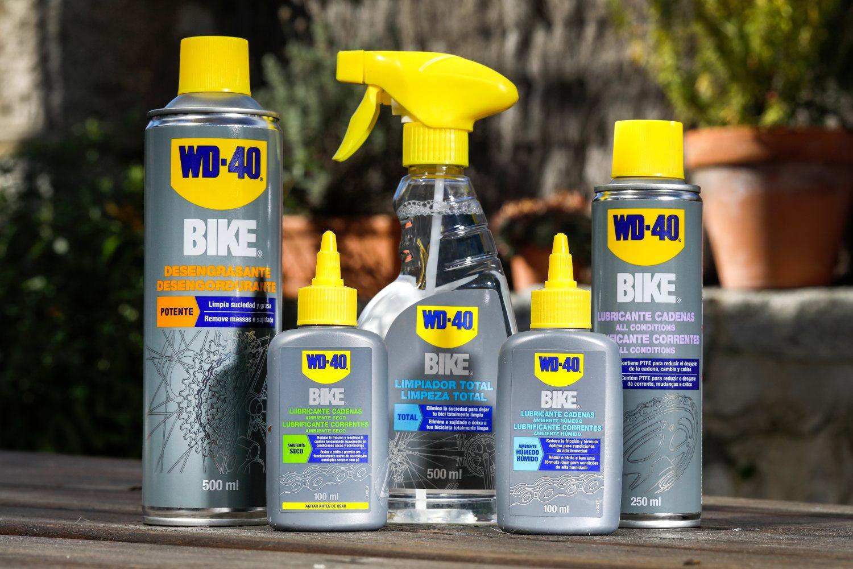 WD40, el arte de limpiar y engrasar tu bicicleta
