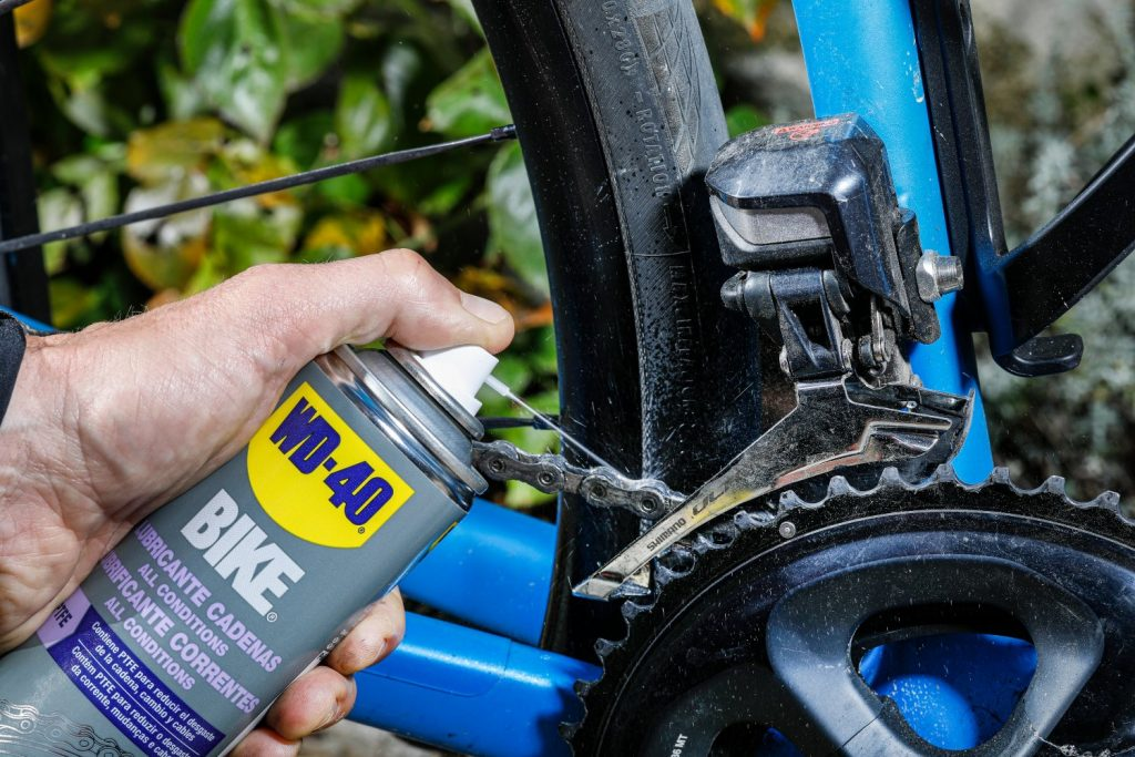 Lubricante de cadenas all conditions WD-40 BIKE