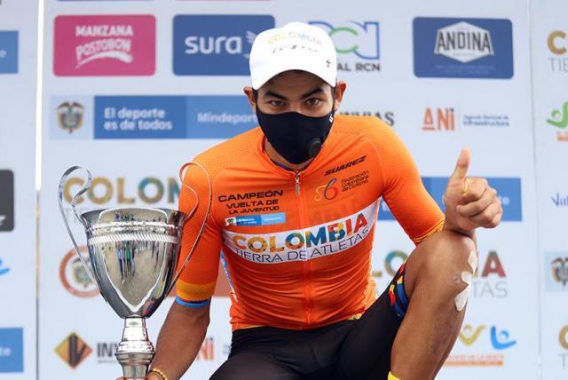 Diego Camargo, quinto fichaje del EF Pro Cycling para 2021