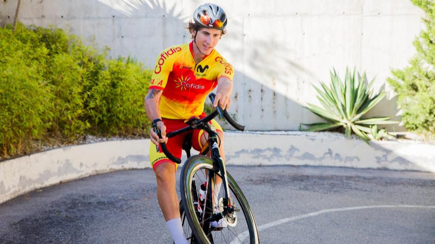 Iván García Cortina participará en el primer Mundial de Ciclismo Virtual.