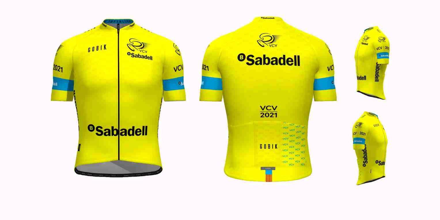 La Vuelta a la Comunidad Valenciana presentó su nuevo maillot amarillo.