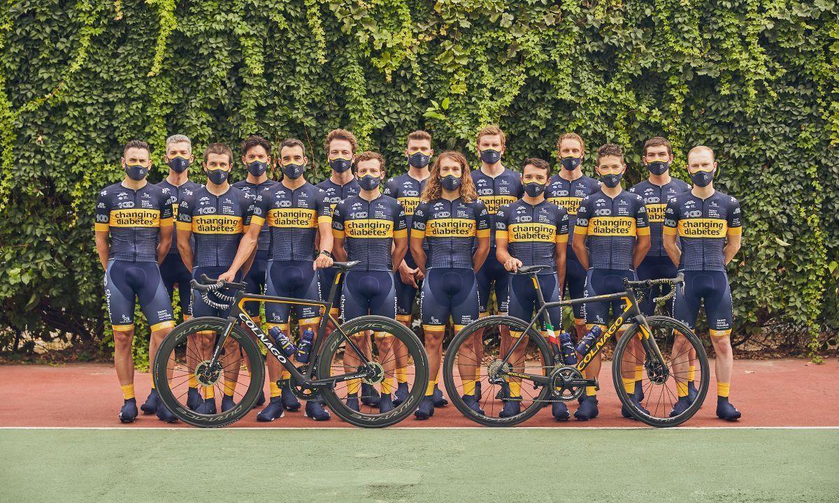 El Novo Nordisk tendrá 17 ciclistas en 2021.