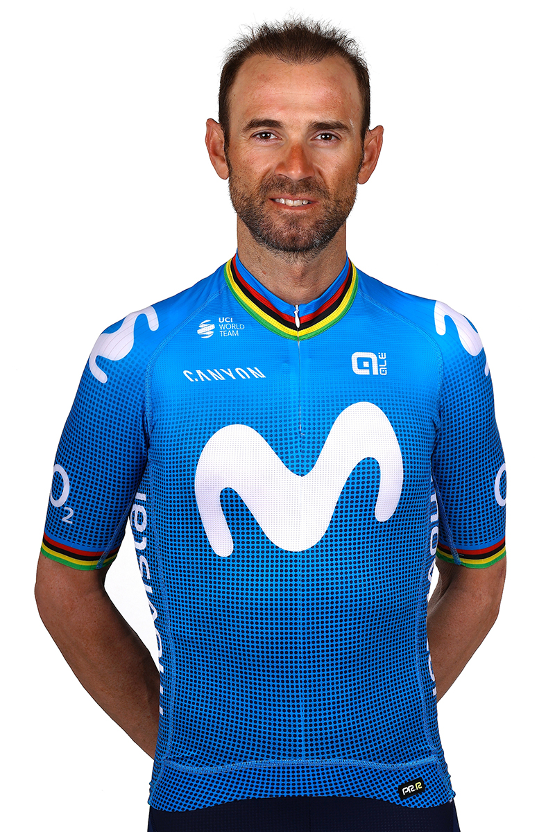 Alejandro Valverde Movistar Team 2021