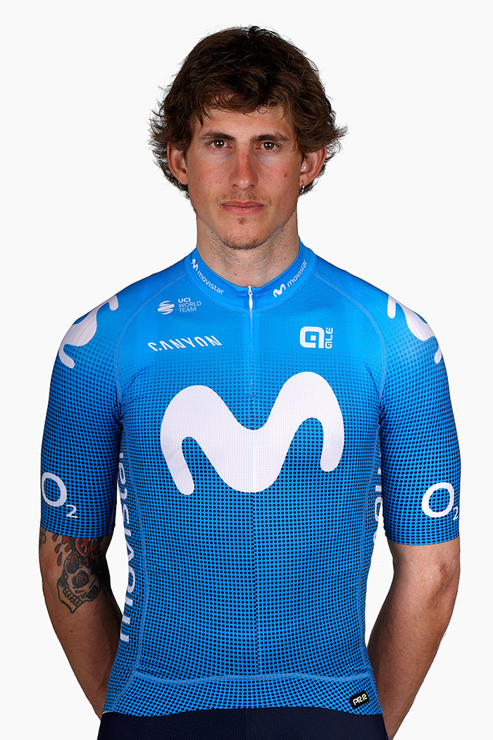 Iván García Cortina Movistar Team 2021