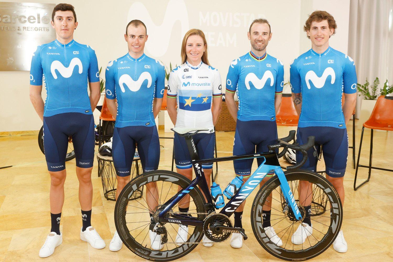 Los líderes del Movistar Team ya conocen sus objetivos (Photo Gomez Sport).
