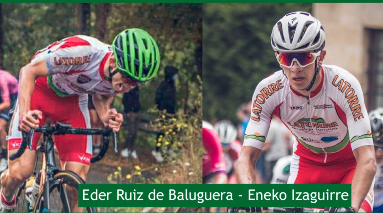 Eder Ruiz de Baluguera y Eneko Izaguirre se unen al Telco,m On Clima Osés