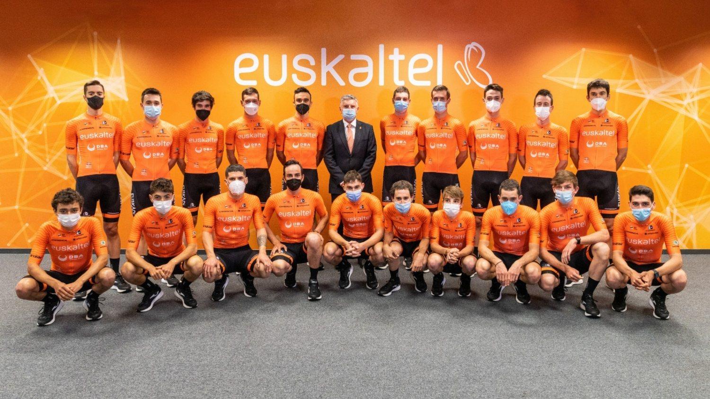 El Euskaltel Euskadi se presentó oficialmente.