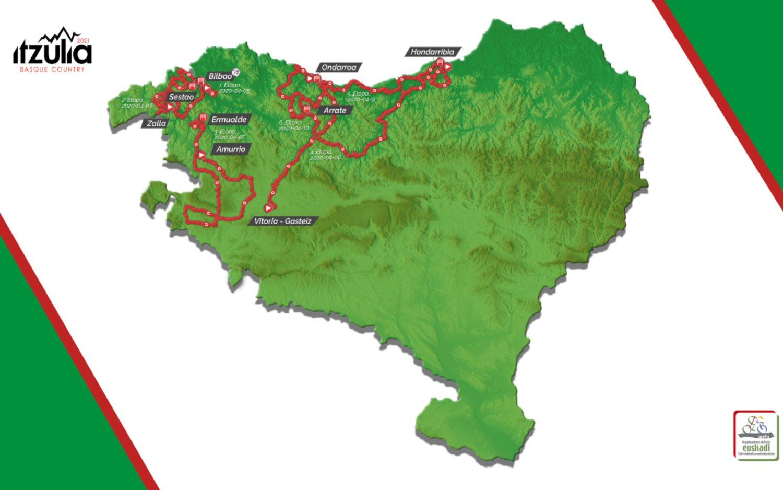 Presentado el recorrido de la Itzulia 2021