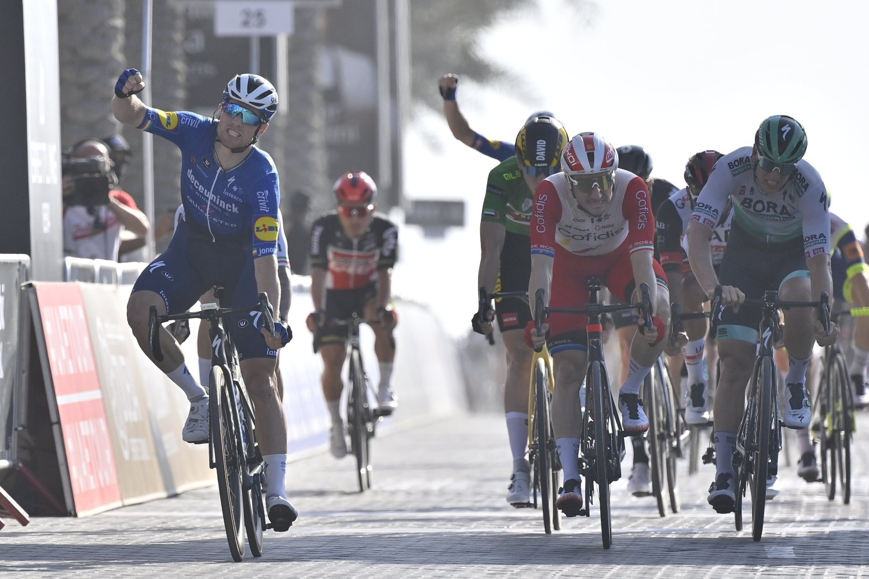 Sam Bennett ganó la sexta etapa del UAE Tour 2021 (LaPresse).
