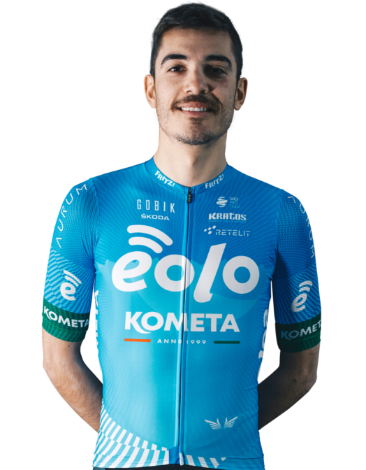 Luca Wackermann Eolo Kometa Cycling.