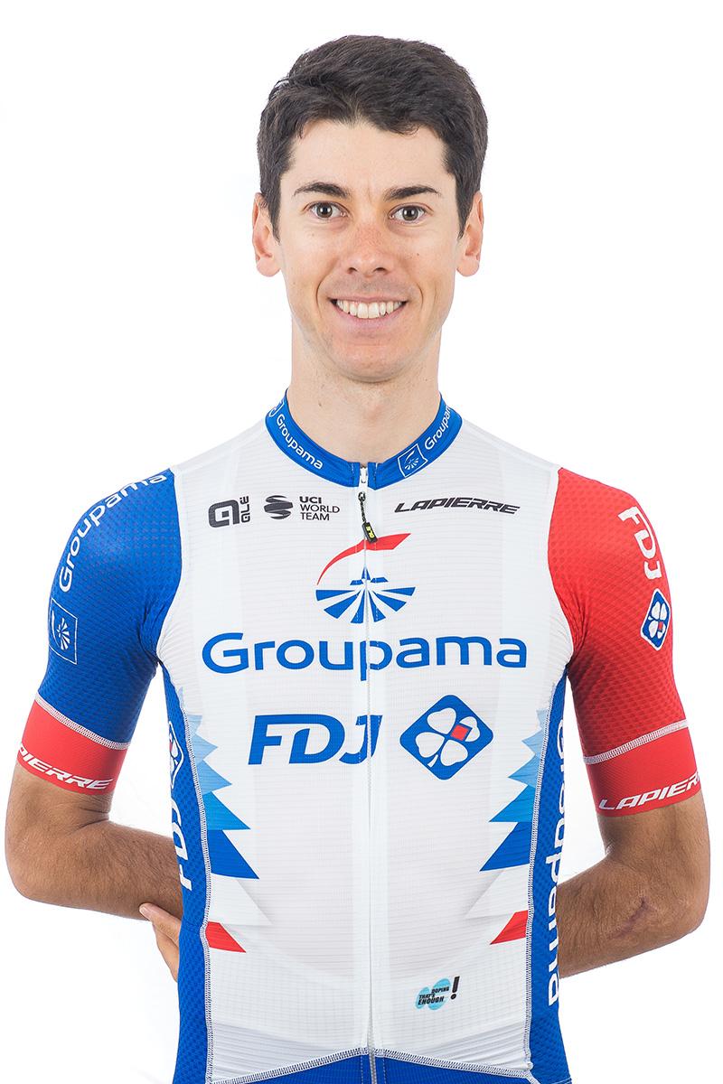Matteo Badilatti Groupama FDJ 2021