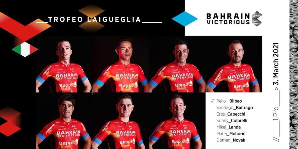 Mikel Landa estrena la temporada en el Trofeo Laigueglia