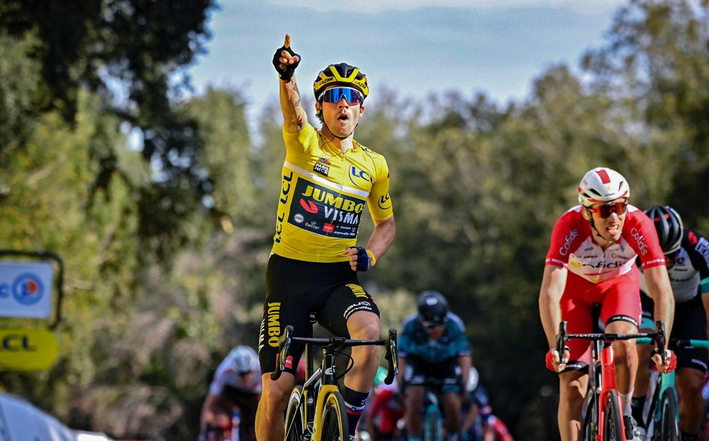 Primoz Roglic ganó la sexta etapa de la París - Niza 2021 (Jumbo)