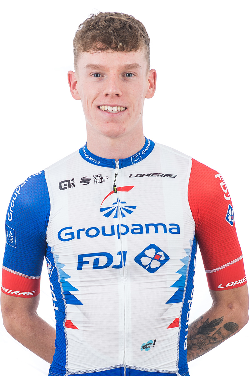 Jake Stewart Groupama FDJ 2021