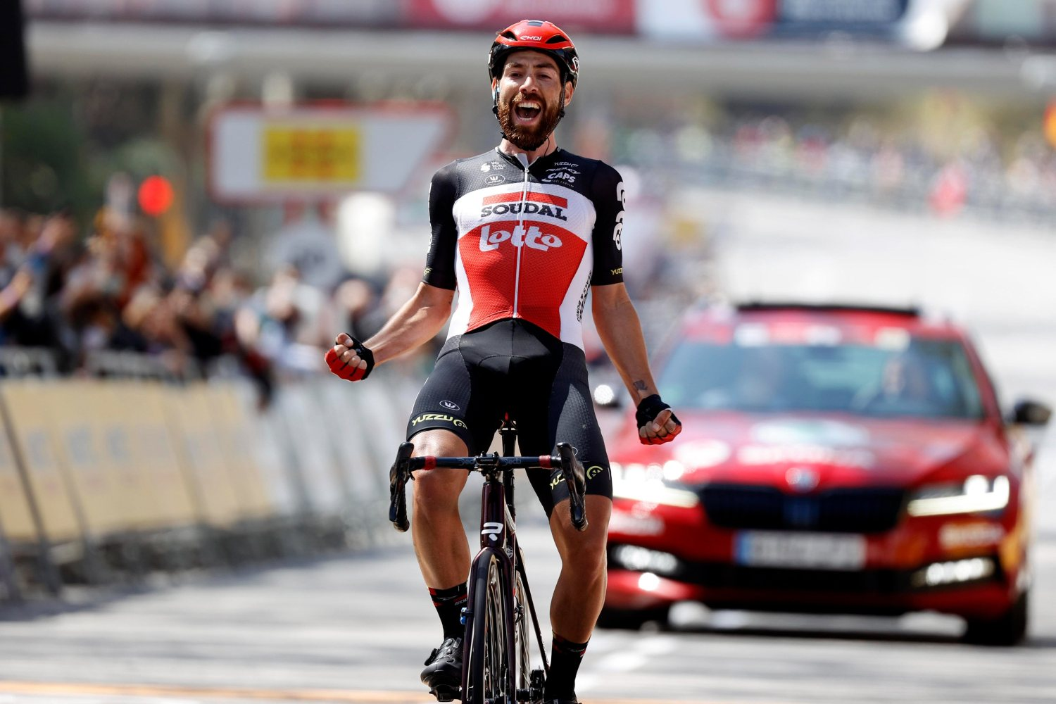 Thomas De Gendt ganó la séptima etapa de la Volta a Cataluña 2021 (Photo News)