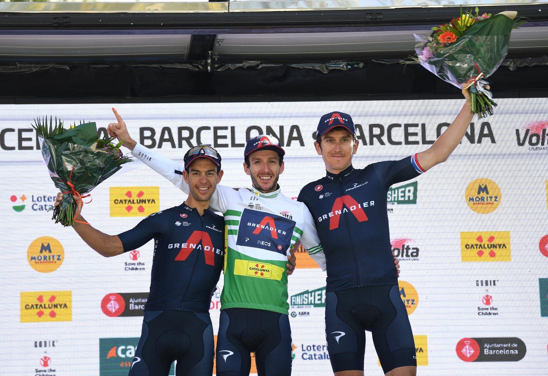 Volta a Cataluña 2021 podio