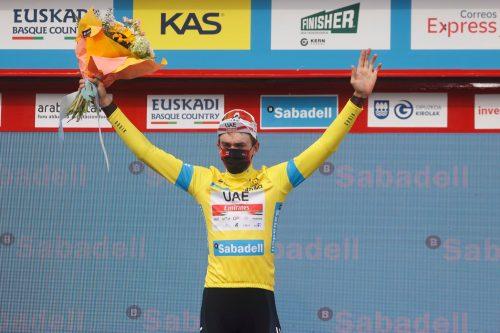 Clasificación etapa 4 Vuelta al País Vasco 2021