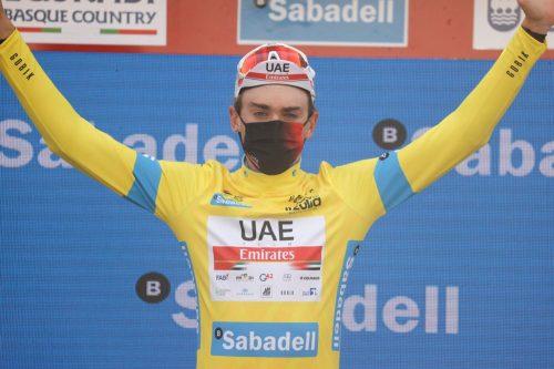 Clasificación etapa 5 Vuelta al País Vasco 2021