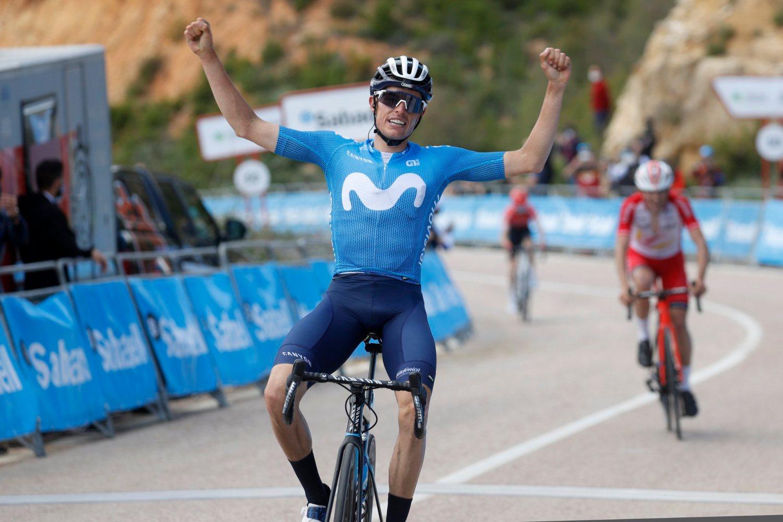 Enric Mas ganó la tercera etapa de la Vuelta a la Comunidad Valenciana 2021 (Photo Gómez Sport).