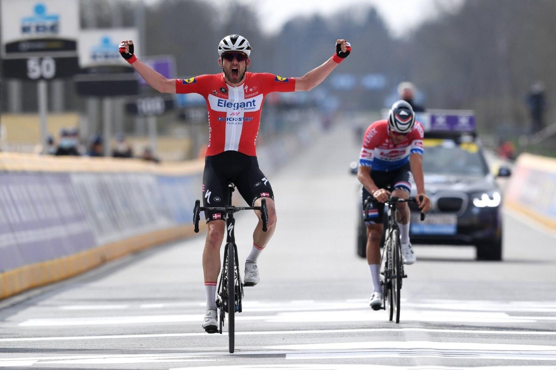 Kasper Asgreen ganó el Tour de Flandes 2021 (Getty Images)