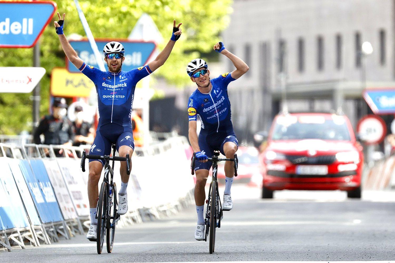 Mikkel Honoré ganó la quinta etapa de la Vuelta al País Vasco 2021 (Photo Gómez Sport).