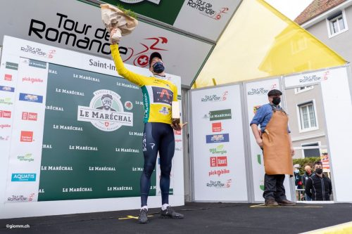Clasificación etapa 3 Tour de Romandía 2021