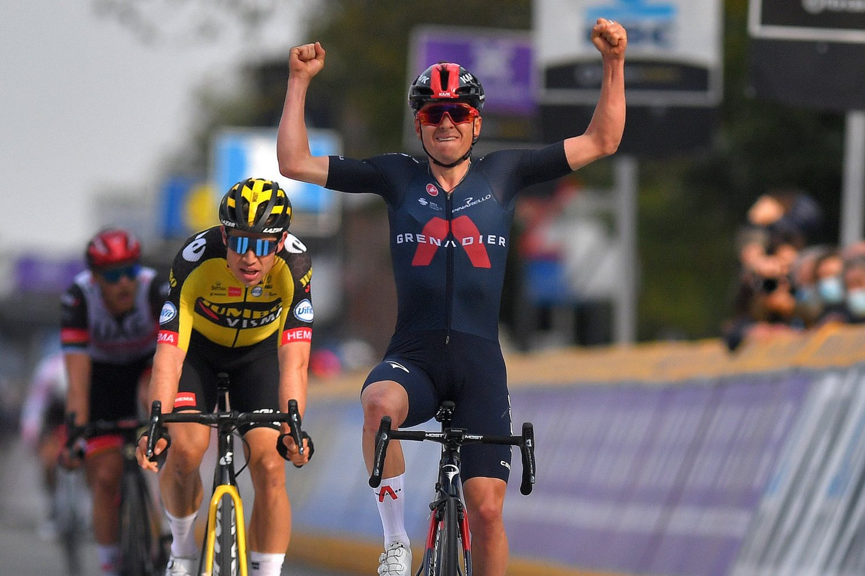 Thomas Pidcock ganó la Flecha Brabanzona 2021 (Getty Images).