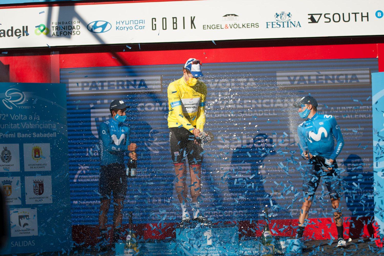 Vuelta a la Comunidad Valenciana 2021 podio