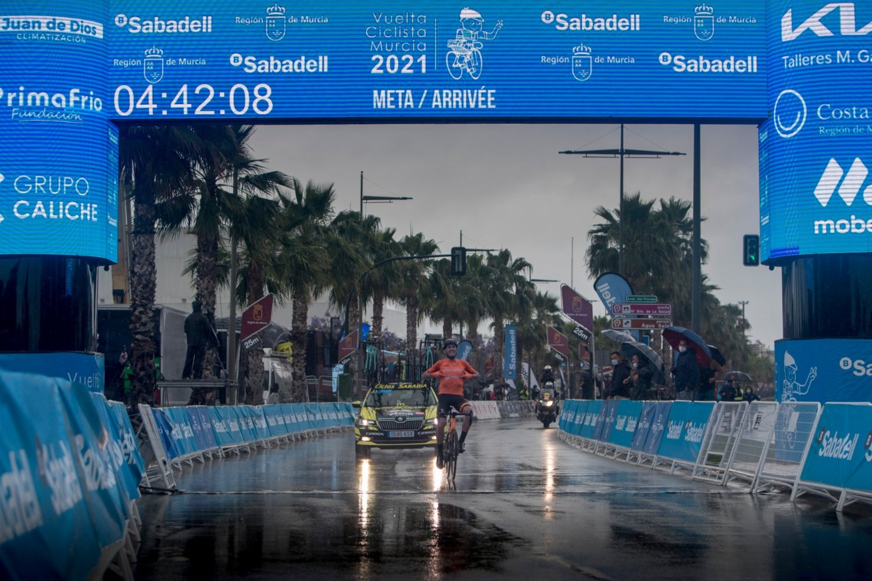 Antonio Soto ganó la Vuelta a Murcia 2021 (Pascu Mendez).