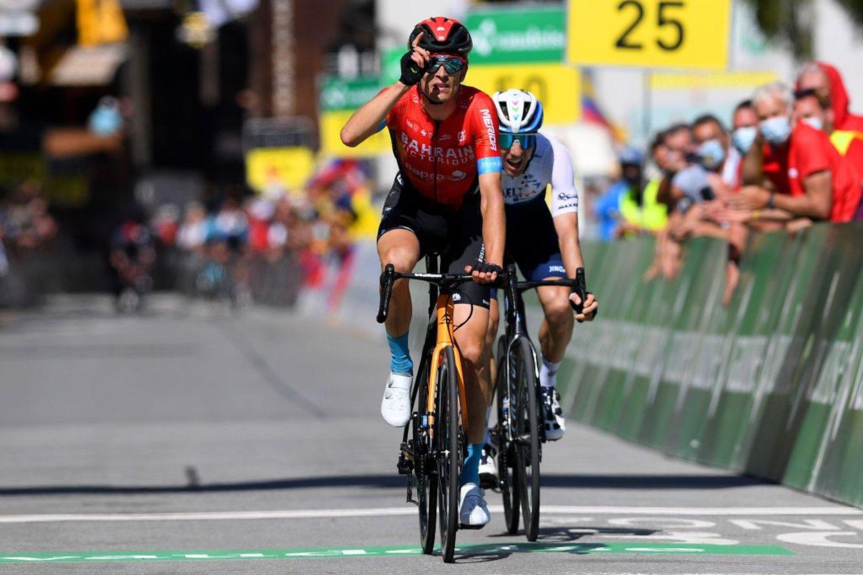 Gino Mader ganó la octava etapa del Tour de Suiza 2021 (Getty Images).